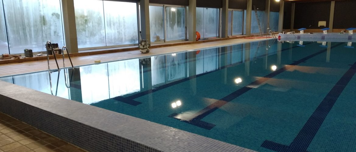 Remodeling project of the indoor municipal swimming pool of Can Butjosa in Parets del Vallès