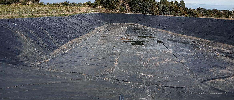 Redacció del projecte i direcció de les obres de reparació de la bassa d'emmagatzematge de La Pobla de Cérvoles (les Garrigues)